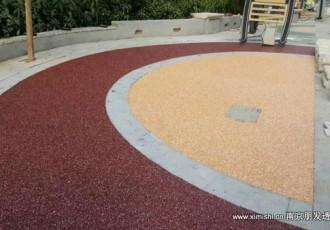 彩色透水石施工
